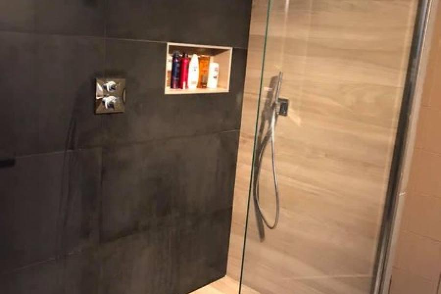 Création d'une douche à l'italienne à Tenneville par la société Vervoort Maxime